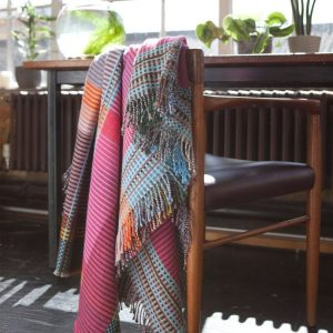 December Mood with Throws and Scarves