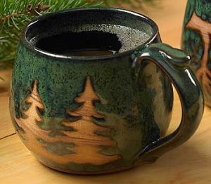 December Mood Setting with Stone ware