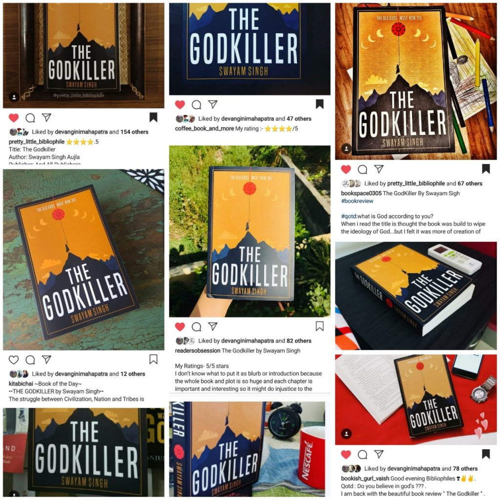 Bestseller The Godkiller ruling over the Internet. Readers and Book bloggers excited to be presented with the Sequel after Swayam Singh's debut novel came out as amazing as he conceived.