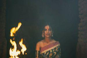 saree at work